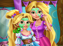 Rapunzel si Fiica Ei Tratamente Faciale