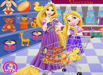 Rapunzel si Fiica Ei la Cumparaturi