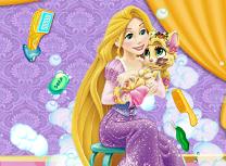 Rapunzel si Pisica Murdara