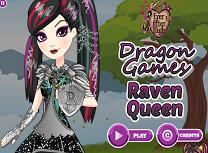 Raven Queen si Jocurile Dragonului
