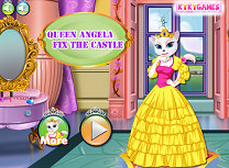 Regina Angela Repara Castelul