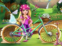 Repara Bicicleta lui Rapunzel