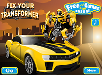 Repara Robotul Transformers