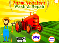 Repara si Spala Tractorul de Ferma