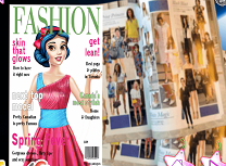 Revista Modei cu Alba ca Zapada