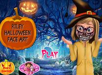 Riley Picturi pe Fata de Halloween