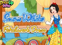 Rochie Pentru Printesa Alba ca Zapada