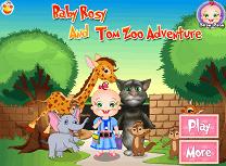 Rosy si Tom la Zoo