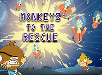 Jocuri cu Maimutele Racheta