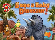 Salveaza Puiul de Dinozaur