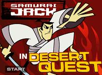 Samurai Jack in Desert