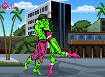 Saruturi cu Hulk