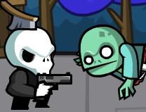 Scheletul vs Zombi