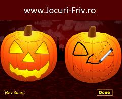 Sculpteaza Dovleci de Halloween