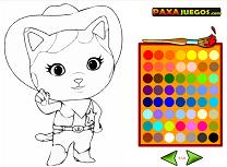 Seriful Callie Coloreaza Personajele