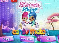 Shimmer si Shine Potriveste Dulciurile
