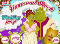Shrek si Fiona Fac Nunta