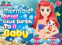 Sirena Ariel Naste un Bebelus