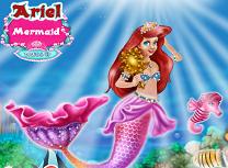 Sirena Ariel de Imbracat