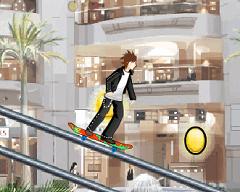 Skateboard Uphil Rush