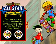 Skateboard cu Dragonul American