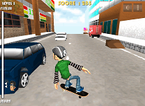 Skateboard in Oras 3D