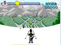 Ski cu Sylvester