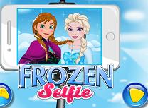 Slefie cu Anna si Elsa