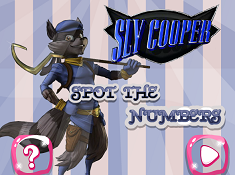 Sly Cooper Numere Ascunse