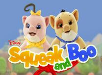 Jocuri cu Squeak si Boo