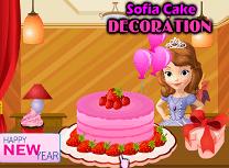 Sofia Decoreaza Tortul