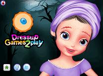 Sofia Intai Machiaj de Halloween