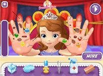 Sofia Intai la Doctorul de Maini