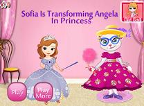 Sofia O Transforma pe Angela in Printesa