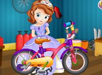 Sofia Repara Bicicleta