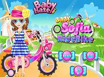 Sofia cu Bicicleta