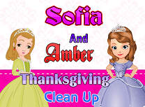 Sofia si Amber Fac Curatenie