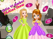 Sofia si Amber Show de Moda