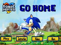 Sonic Drumul Spre Casa