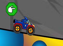 Sonic cu Masina Monstru