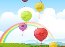 Sparge Baloanele Colorate