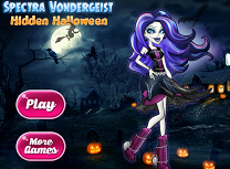 Spectra Vondergeist Obiecte Ascunse de Halloween