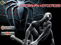 Spiderman Cursa Motocross