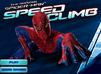 Spiderman Urca pe Cladire