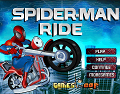 Spiderman pe Motoreta