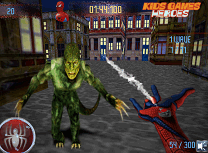 Spiderman vs Zombi