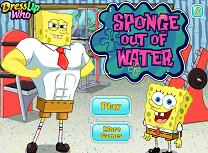 Spongebob Antrenament