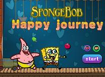 Spongebob Calatorie Fericita