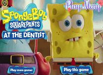 Spongebob Pantaloni Patrati la Dentist