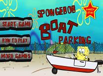 Spongebob Parcheaza Barca